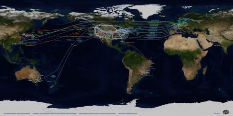 Mapa do GLIF